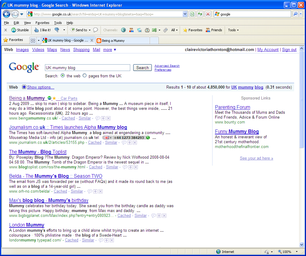google-for-my-blog-