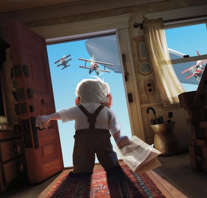 Film Review: Up! by Disney Pixar