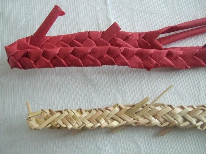 Rural Crafts for Kids; Straw Plaiting