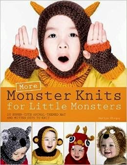 Book Review: More Monster Knits for Little Monsters by Nuriya Khegay