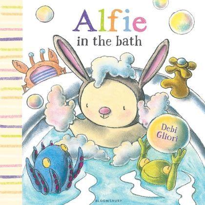 Book Review: Alfie in the Bath by Debi Gliori
