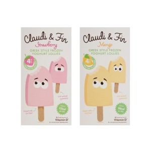 Claudi and Fin Lollies