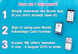 Boots Millionaire Points App