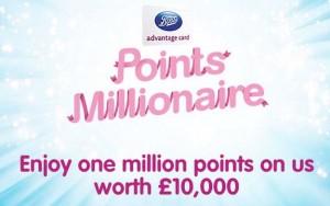 boots millionaire points