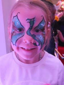 Dragon Facepaint