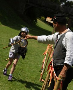 childrens jousting