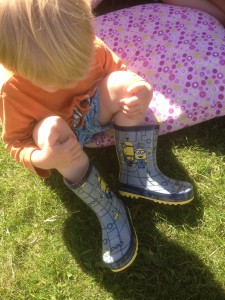 minion wellies