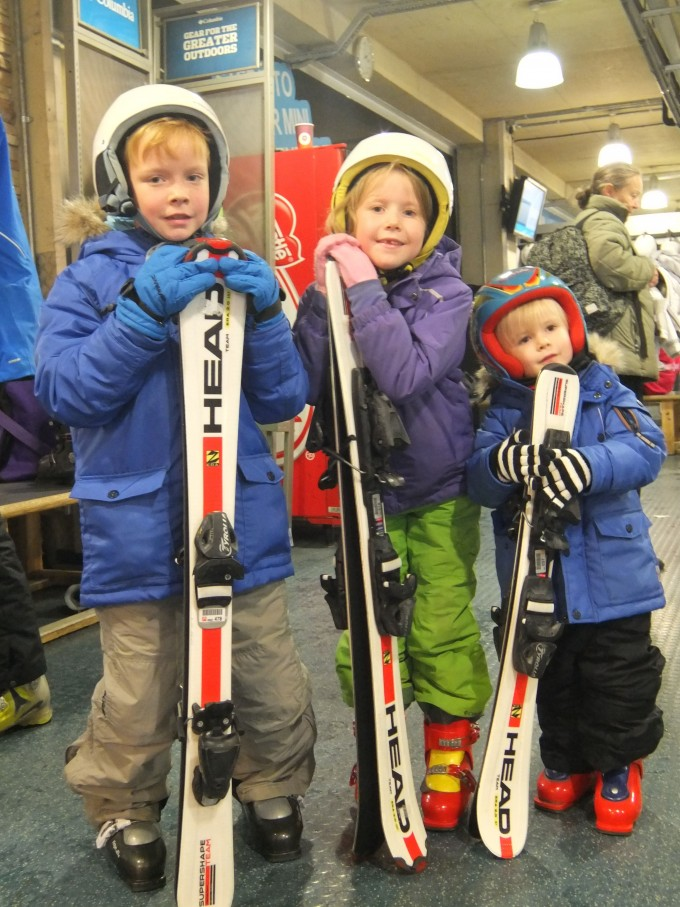 Three Go Skiing at The Snow Centre with Crystal Ski Holidays