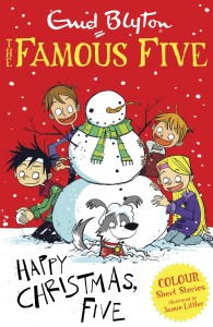 FF Colour Read Happy Christmas Five
