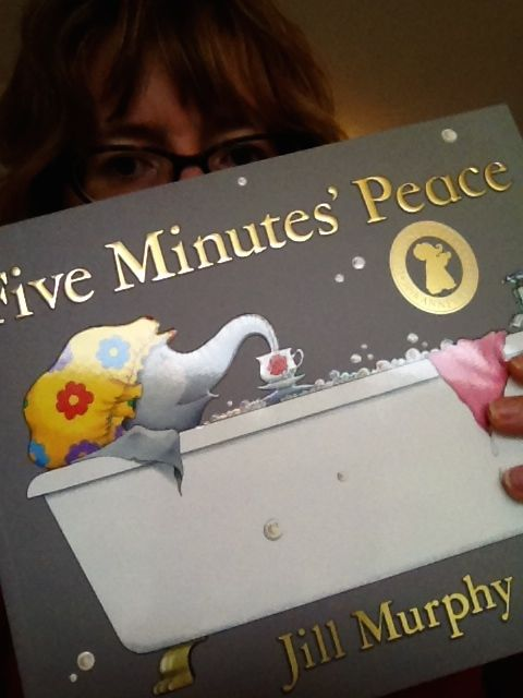 Picture Book Party Blog Tour: Five Minutes Peace by Jill Murphy