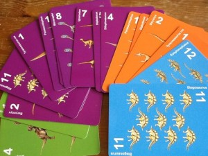times table card game