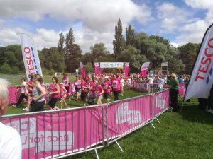 Race for Life Start