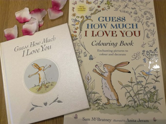 Book Review: Guess How Much I Love You By Sam McBratney and Anita Jeram- Sweetheart Edition and Colouring Book