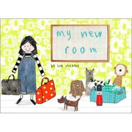 Book Review: My New Room by Lisa Stickley