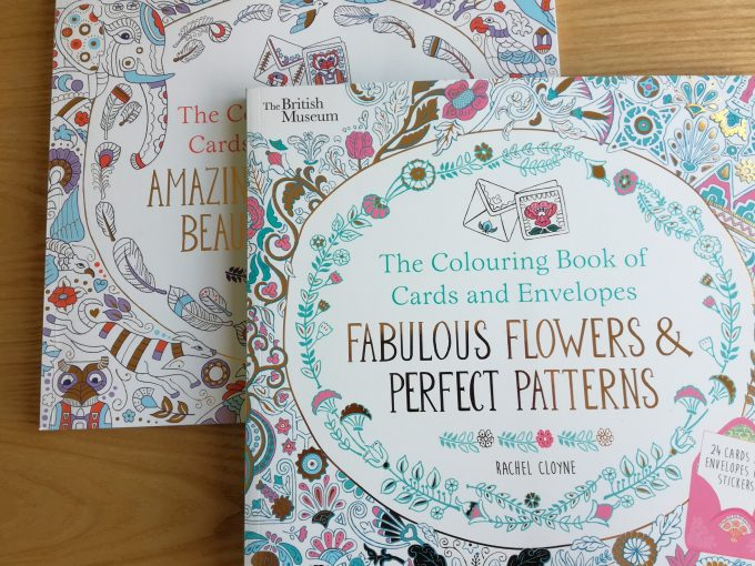 Book Review: The Colouring Book of Cards and Envelopes