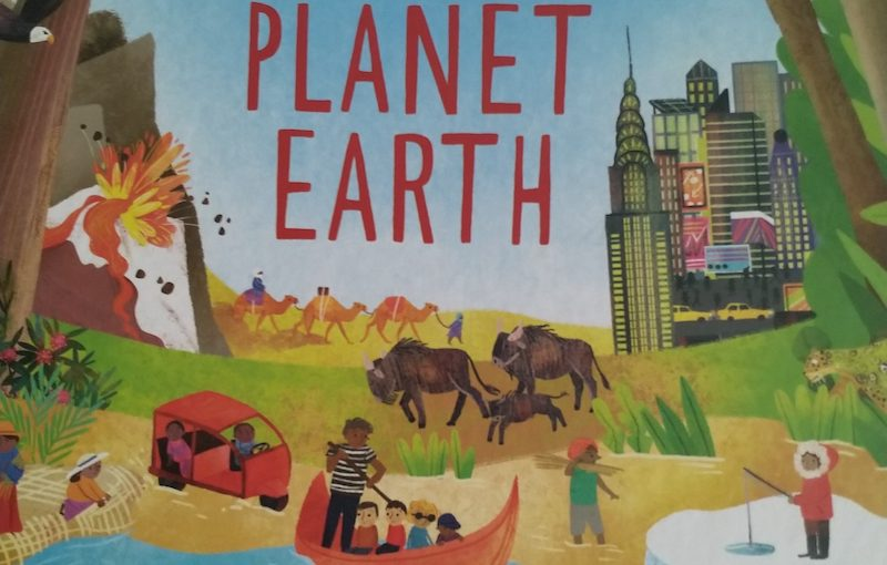 Book Review: The Usborne book of Planet Earth